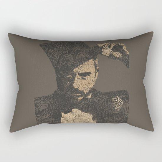 Mystery Unraveled  Rectangular Pillow