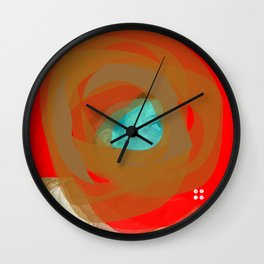 Delacroix Masked Wall Clock