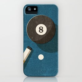 BILLIARDS / Ball 8 iPhone Case