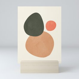 abstract minimal 21 Mini Art Print