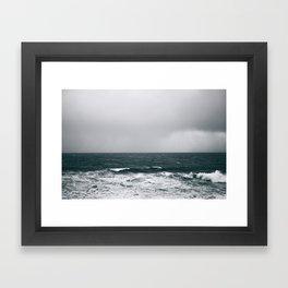Waves IV Framed Art Print
