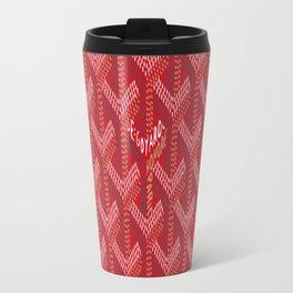 Goyard Red Travel Mug