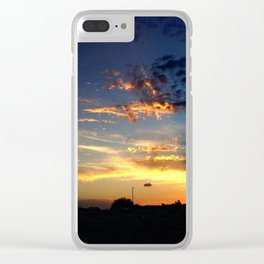 Evening Light Clear iPhone Case