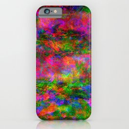 Floral Madness I iPhone Case