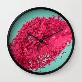 Abstract design - Splash Wall Clock