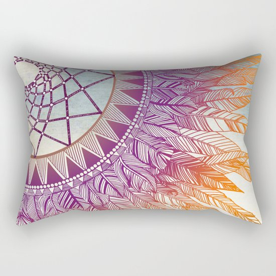 dreamcatcher: mining for the meaning Rectangular Pillow
