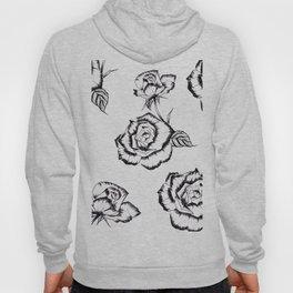 """Rose"" Pattern Hoody"