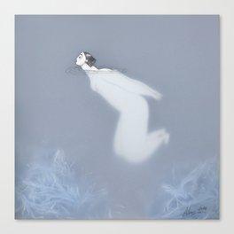 Dona d'aigua V Canvas Print