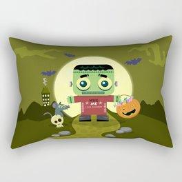 Frankie goes to Halloween Rectangular Pillow