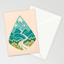 The Road Goes Ever On: Spring Stationery Cards