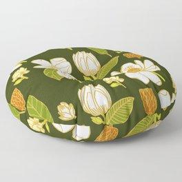 Sweet Magnolia Floor Pillow