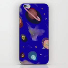 Space Story iPhone Skin