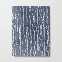 Orinui Stripes Metal Print