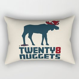 Moose Nuggets Rectangular Pillow