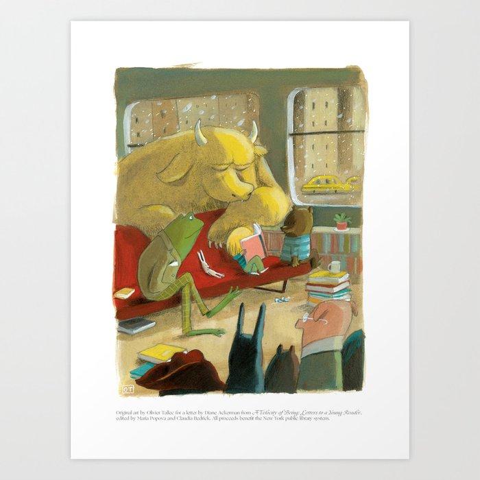 A Velocity of Being: Olivier Tallec Kunstdrucke