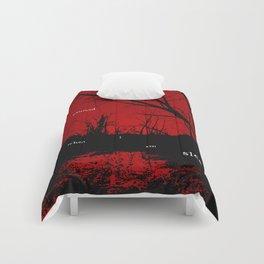 I am haunted when I am sleeping Comforters