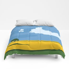 Wide Open Spaces Comforters