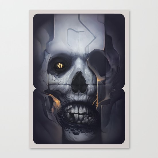 Hollowed Canvas Print