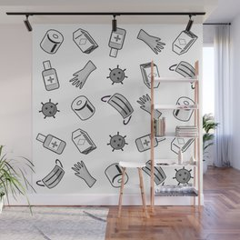 Stay Safe (Transparent) Wall Mural