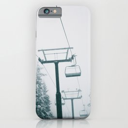 Ski Lift II iPhone Case