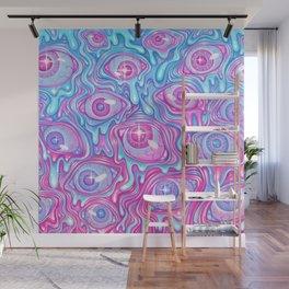Eyeball Pattern - Version 2 Wall Mural