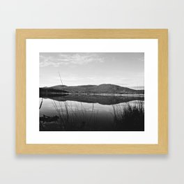 Still Morning Framed Art Print