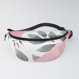 FLOWERS WATERCOLOR 14 Fanny Pack