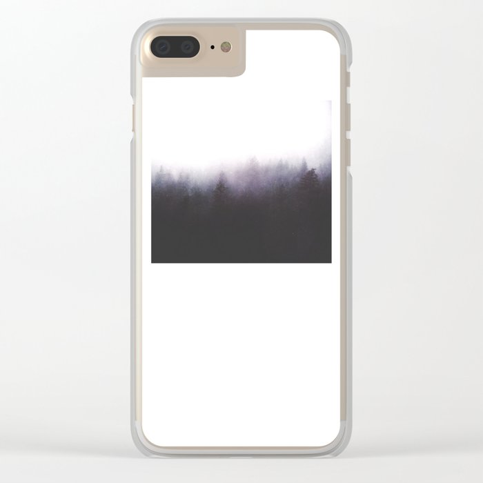 faded ghosts Clear iPhone Case
