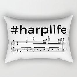 #harplife (2) Rectangular Pillow