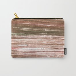 Light taupe abstract watercolor background Carry-All Pouch