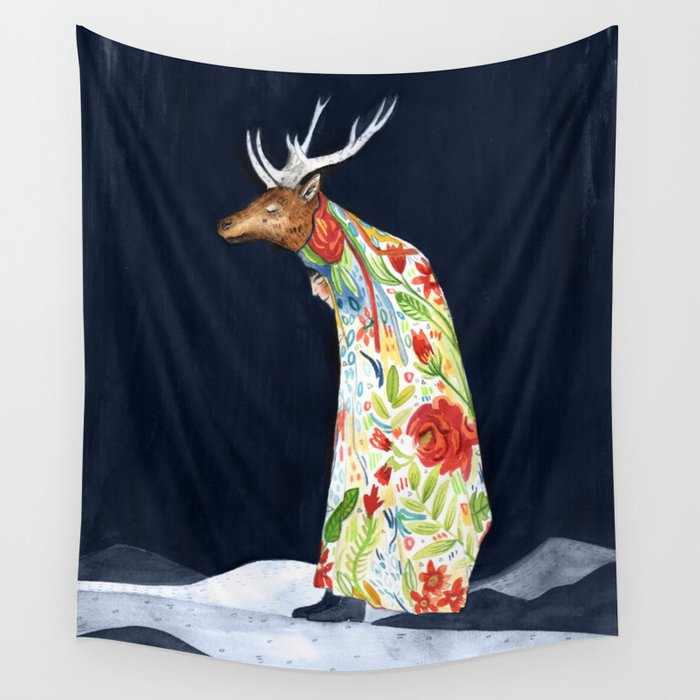 Wilder Mann - The Stag Wall Tapestry