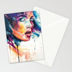 sheets of colored glass Stationery Cards