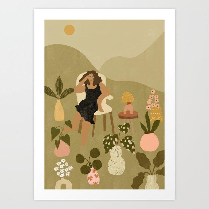 Plants Are My Friends Art Print