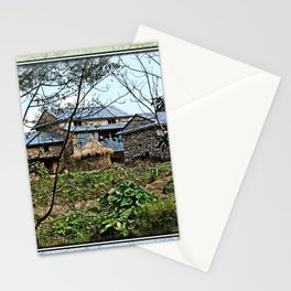 NEPALI FOOTHILLS FARMSTEAD Stationery Cards