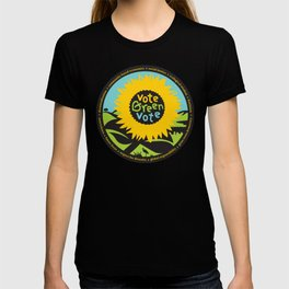 """Green Party Alameda County """"Vote Green"""" T-shirt"""