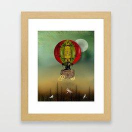 Winds of Change Steampunk Art Framed Art Print