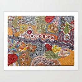 Spring Colours Art Print
