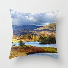Tarn Hows Throw Pillow
