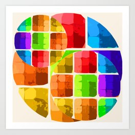 Denatured Art Print
