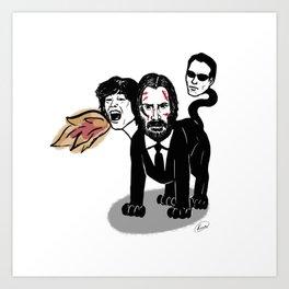 Keanu Reeves Chimera Art Print
