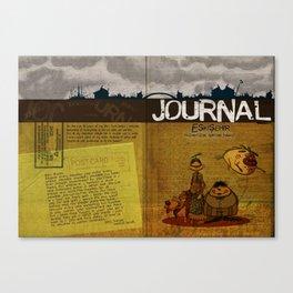 Journal Canvas Print