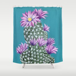 Purple Escobar Shower Curtain