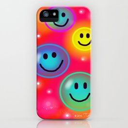 Smile! iPhone Case