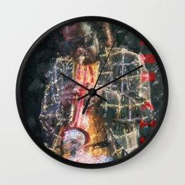 Miles Ahead Wall Clock