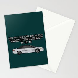 SO SUE ME Stationery Cards