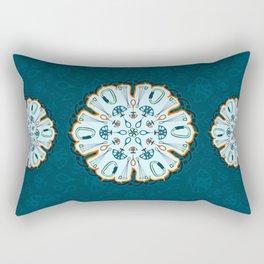 Trad Climbing Mandala Rectangular Pillow