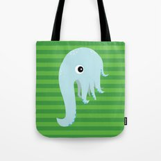 Elephant Squid Tote Bag
