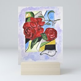 Whimsical Roses Mini Art Print