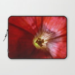 Red Flower Laptop Sleeve
