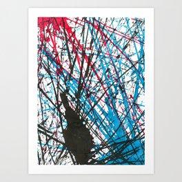 Marble Series, no. 1 Art Print
